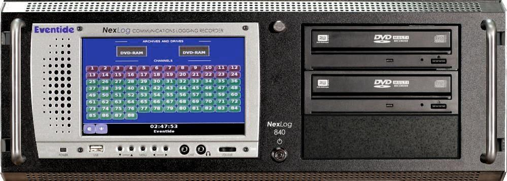 Eventide NexLog840 Display